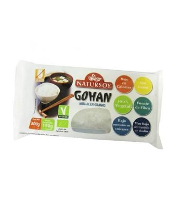 Granos Gohan de Konjac BIO-300gr (NATURSOY)