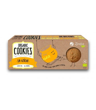 Cookies sin azúcar con ágave ECO - 135g (ZEALIA)