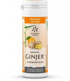 Chicle de jengibre con xilitol y stevia - 30 g (20 uds)