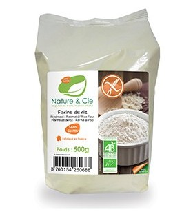 Harina de arroz eco - 500 g (NATURE & CIE)