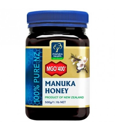 Miel de Manuka MGO®400+ - 500 g (MANUKA HEALTH NEW ZEALAND)