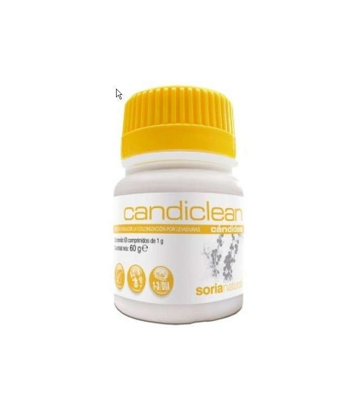 Candiclean - 60 comp (Soria Natural)