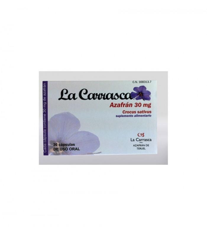 Cápsulas de Azafrán 30mg - 30 cápsulas (LA CARRASCA)