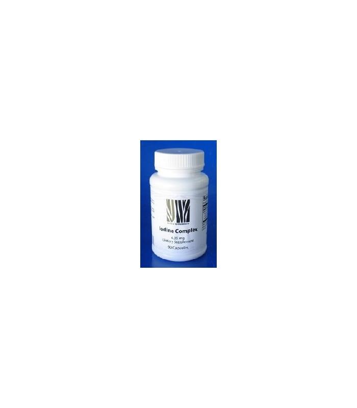 Iodine Complex 6,25 mg - 90 capsulas (NEW BEGINNINGS)