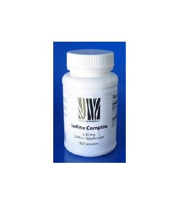 Iodine Complex 6,25 mg - 90 cápsulas (NEW BEGINNINGS)
