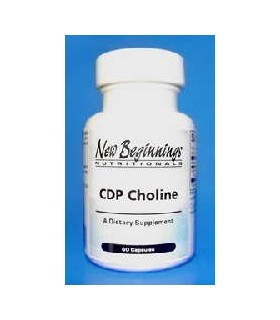 CDP Choline -  60 cápsulas (NEW BEGINNINGS)
