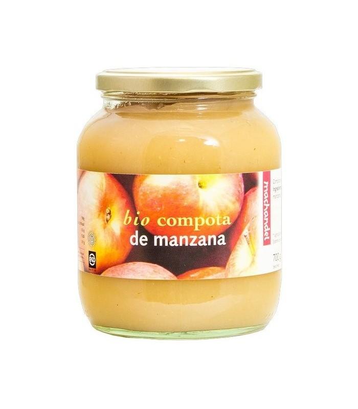 Compota de manzana bio-700 g (MACHANDEL)