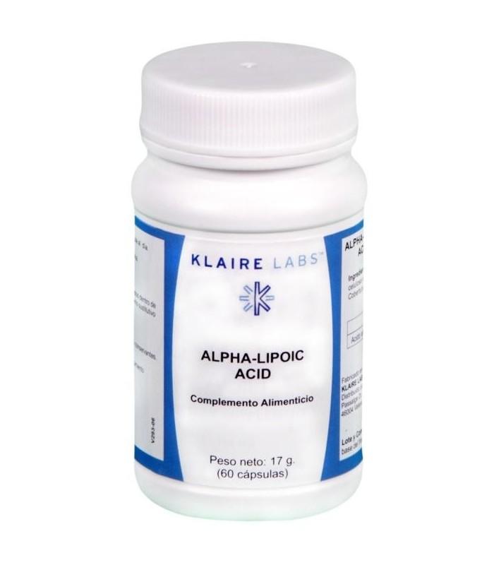 Lipoec (alpha-lipoic acid)-60 cápsulas (KLAIRE LABS)