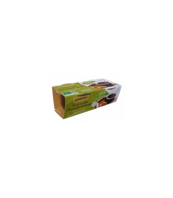 Postre de almendra bio-2x110 g (DANIVAL)
