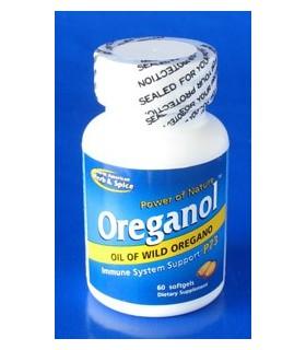 Oreganol P73 -  60 cápsulas (NORTH AMERICAN HERB&SPICE)