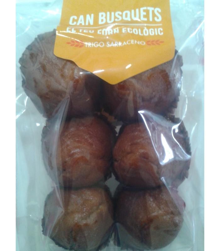 Magdalenas de trigo sarraceno con limón sin azúcar-290g (CAN BUSQUETS)