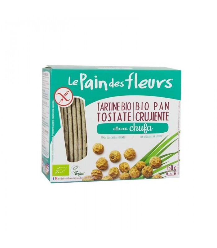 Pan de flores con chufa sin gluten bio-150 g (LE PAIN DES FLEURS)