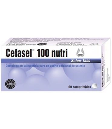 Cefasel 100 nutri-60 comprimidos (LABORATORIO COBAS)