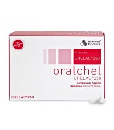 Oralchel CHELAC 250-60 cápsulas (NUTRITIONAL DOCTORS)