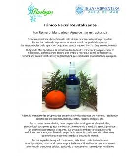 Tónico facial revitalizante-100 ml (IBIZA Y FORMENTERA AGUA DE MAR)