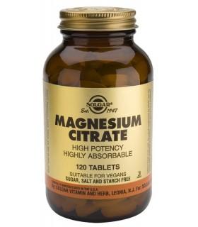 Citrato de magnesio-120 comprimidos (SOLGAR)