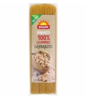 Spaghetti de garbanzos BIO-250 g (BIOGRA)