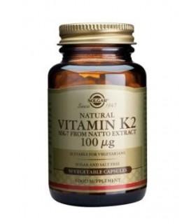 Vitamina K2 100 mcg-50 cápsulas vegetarianas (SOLGAR)