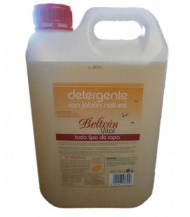 Detergente líquido con jabón natural todo tipo de ropa vital- 5 l (BELTRÁN)
