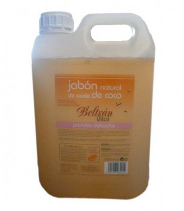 Jabón Natural de aceite de coco líquido prendas delicadas  vital-5 l (BELTRAN)