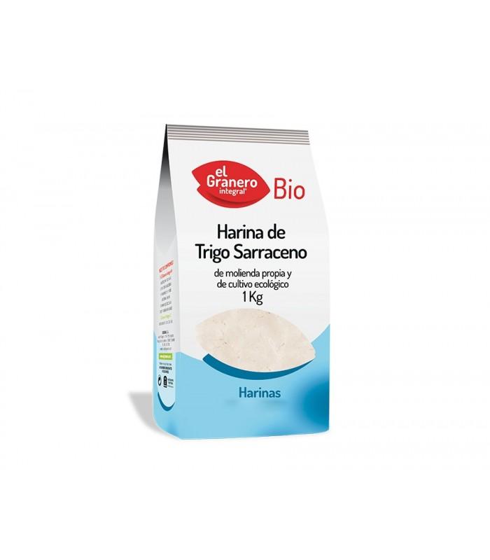 Harina trigo sarraceno bio-1 kg (EL GRANERO)