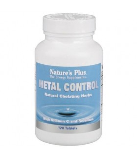 Metal Control 120 Comprimidos (NATURE'S PLUS)