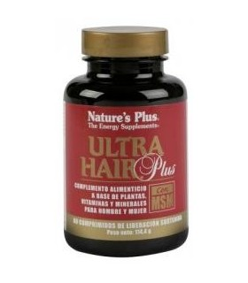 Ultra Hair Plus  60 Comprimidos (NATURE'S PLUS)