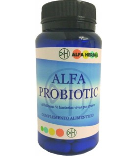 Alfa probiotic- 60 cápsulas (ALFA HERBAL)