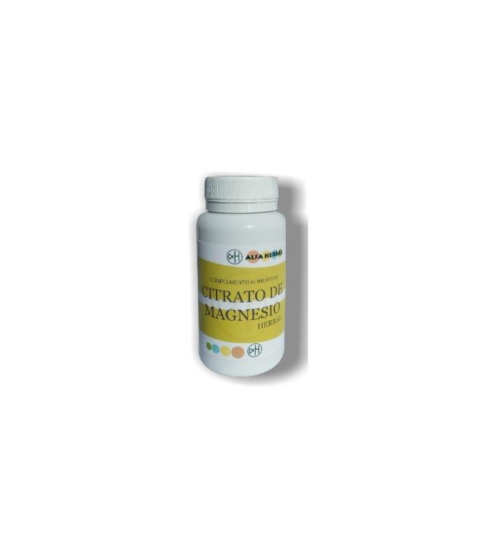 Citrato de magnesio-90 cápsulas vegetales (ALFA HERBAL)