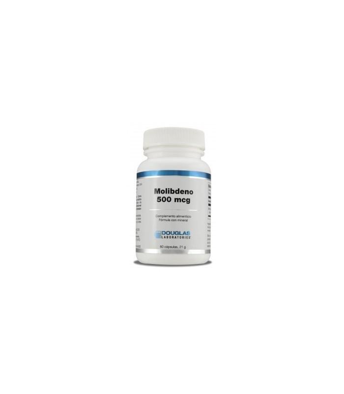 Molibdeno 500 mcg-60 cápsulas (DOUGLAS)