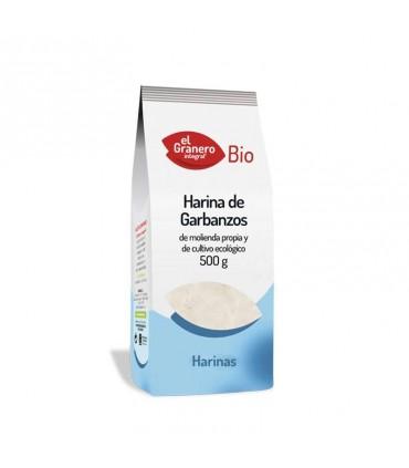 Harina de garbanzos bio-500 g (EL GRANERO)
