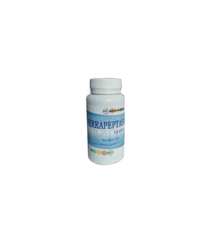 Serrapeptasa Herbal-60 Capsulas (ALFA HERBAL)