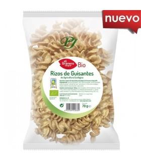 Rizos de guisantes bio-70 g (EL GRANERO)