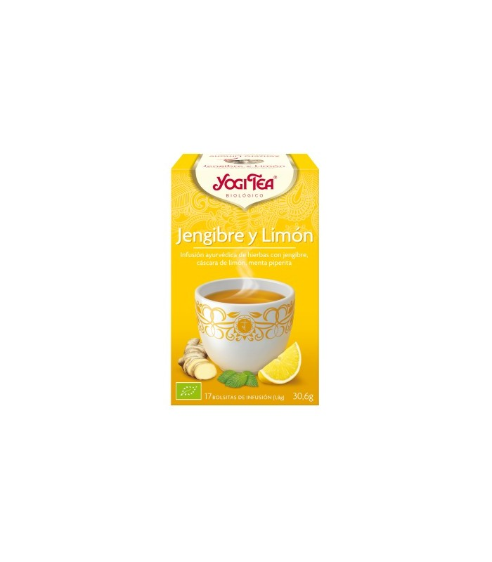 Infusión Jengibre y limón (YOGI-TEA)