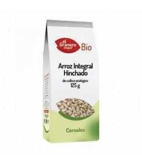 Arroz Integral hinchado bio - 125 g (EL GRANERO)