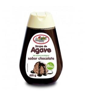 Sirope de ágave sabor chocolate bio-335 g (EL GRANERO)