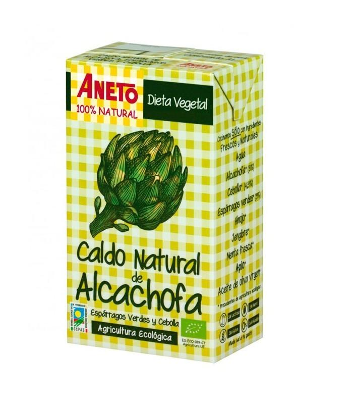 Caldo Natural de Alcachofa (ANETO)