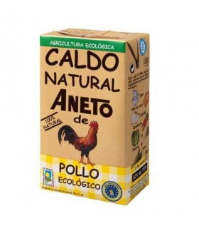 Caldo Natural de pollo  1l +500ml (ANETO)