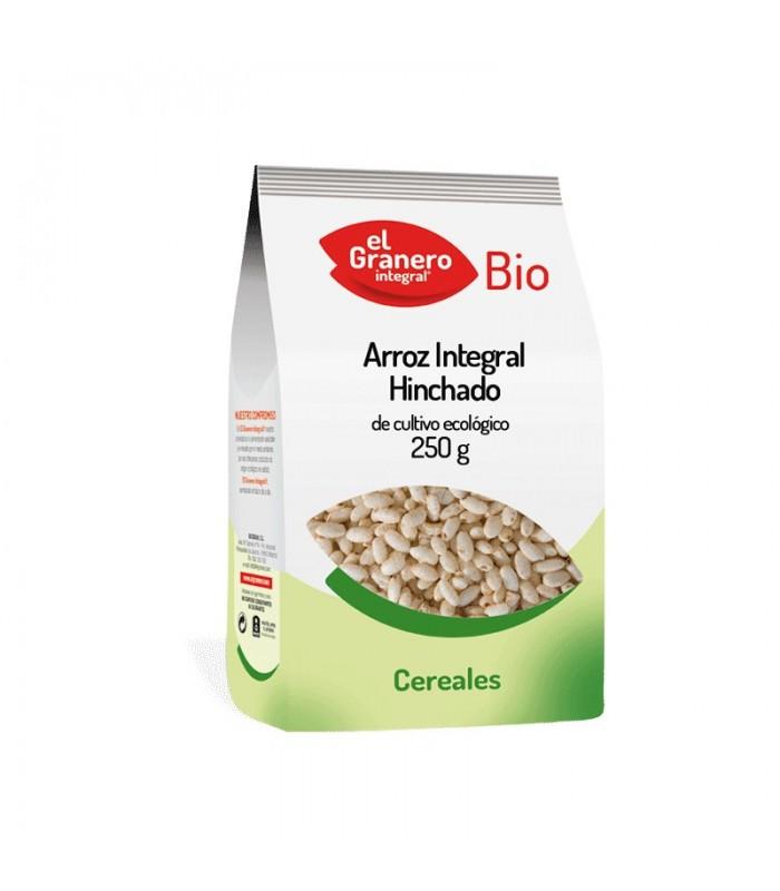 Arroz Integral hinchado bio - 250 g (EL GRANERO)