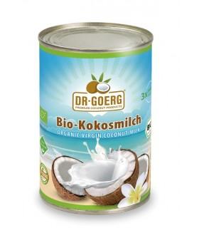 Leche de coco bio-400 ml  (DR GOERG)