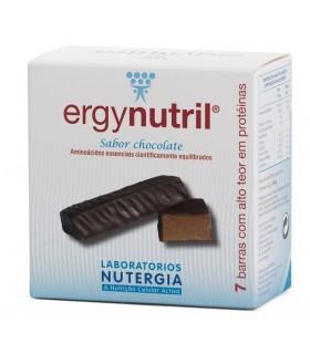ERGYNUTRIL barritas sabor chocolate-7 ud (NUTERGIA)