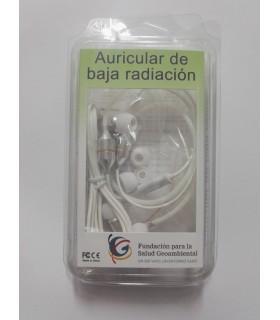 Auricular baja radiación FC12 blanco
