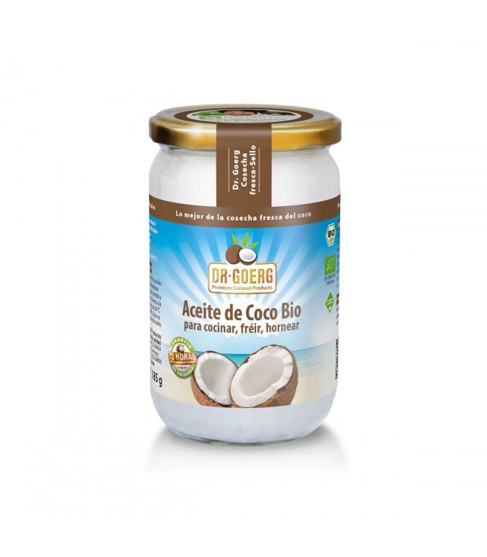 Aceite de coco bio para cocinar -500 ml (DR GOERG)