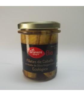 Filetes de caballa en aceite de oliva ecológico (EL GRANERO)