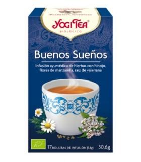 Infusión Bio Buenos Sueños, 17 bolsitas (YOGI TEA)