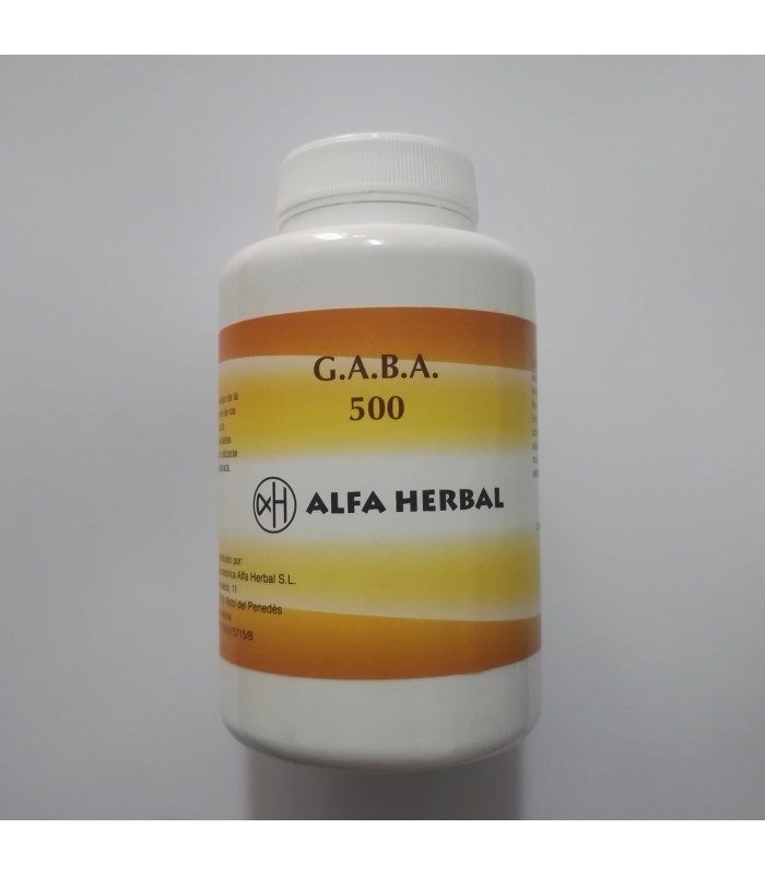 GABA 500-120 cápsulas (ALFA HERBAL)