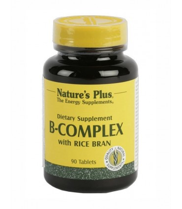 B-complex-90 comprimidos (NATURES PLUS)