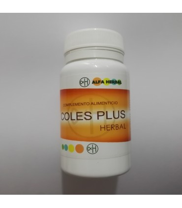 Coles Plus Herbal 60 Cápsulas (Alfa Herbal)