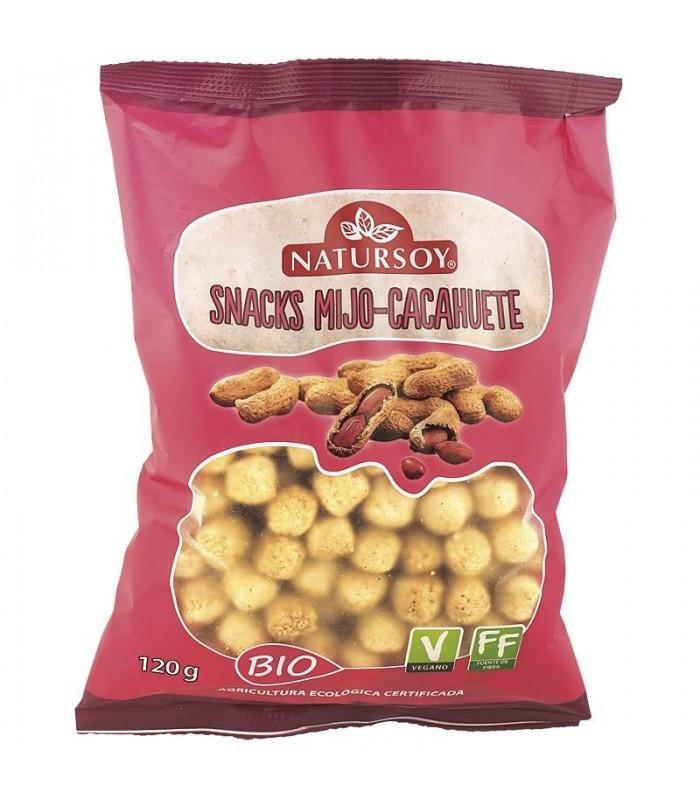 Snacks Mijo-Cacahuete 120g (NATURSOY)