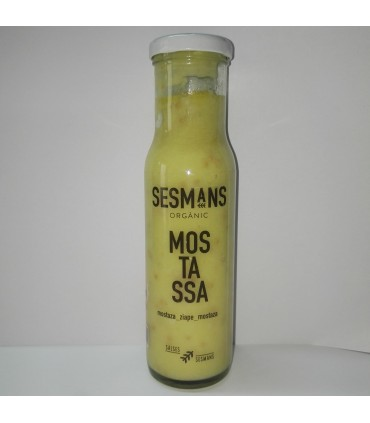 Salsa Mostaza 240g (SESMANS ORGANIC)